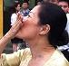 Bài thơ xúc động về nụ hôn gió của vợ Dương Chí Dũng